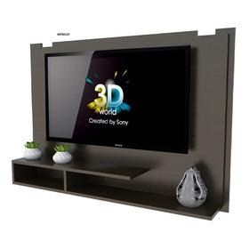 Panel Rack P/led Tables Tv Con Repisa. Incluye Soporte P/led