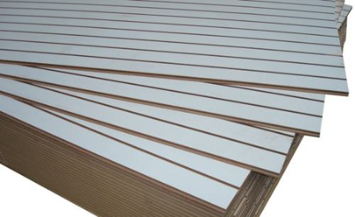 panel ranurado blanco 260x90cm unicos fabricantes de bs. as.