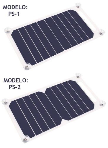 panel solar 10w 5v 1000ma celda - cargador portátil