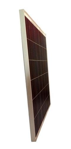 panel solar 160 watts 12v, 17.4% eficiencia mayor