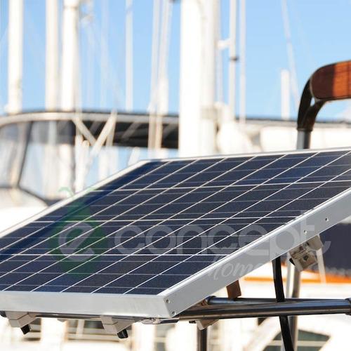 panel solar 20w regulador de carga 5amp kit energía solar