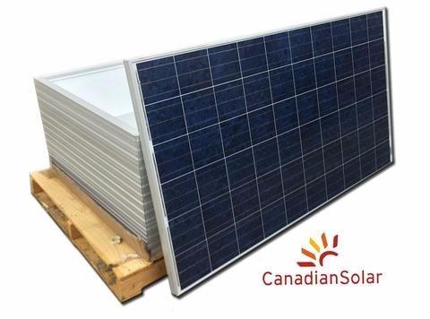 panel solar 240 watts canadiansolar