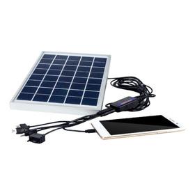 Panel Solar 5.5 W Cargador Celular Power Bank Usb  Abi