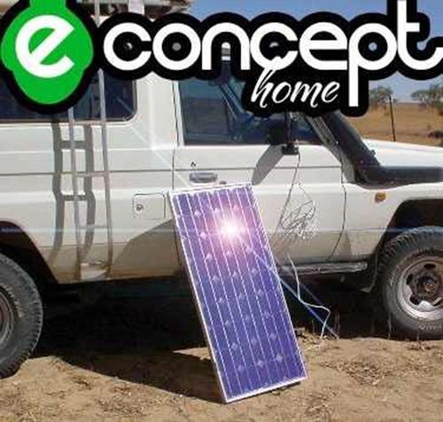 panel solar 75w regulador batería inversor - envío gratis -
