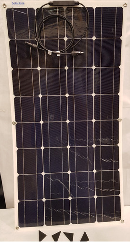 panel solar flexible 90wp mc4 p/ rodantes motorhome veleros
