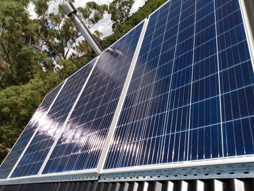 panel solar fotovoltaico 100 wp 18v policristalino