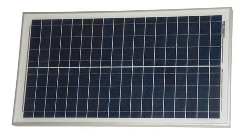 panel solar fotovoltaico 30w policristalino - ps30 - enertik