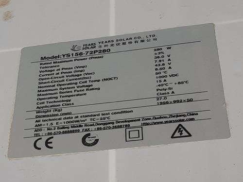 panel solar policristalino 12v 50w