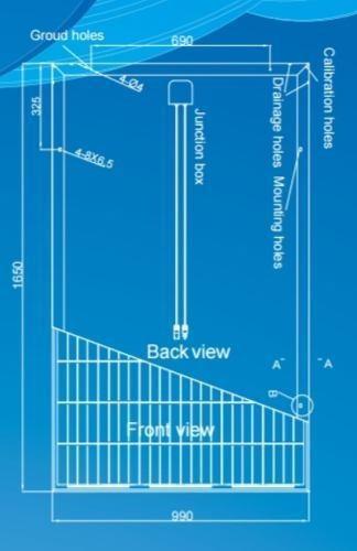 panel solar policristalino 270w 24v 60 celdas envíos gratis