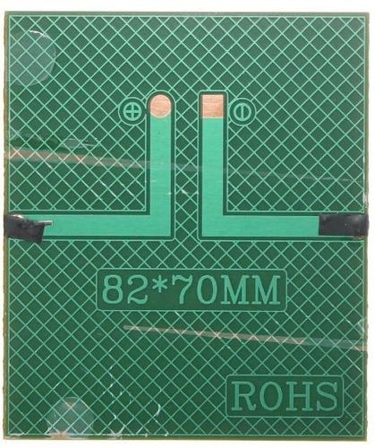 panel solar policristalino mini epoxy 2v 0.6w 300mah 82x70mm