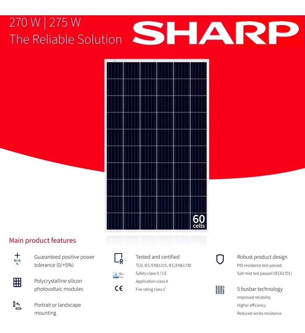 Resultado de imagen para sharp solar