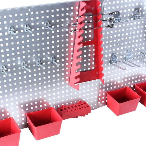 panel soporte para herramientas 34 piezas mikels