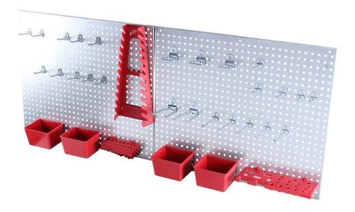 panel soporte para herramientas 34 pzs organizacion mikels