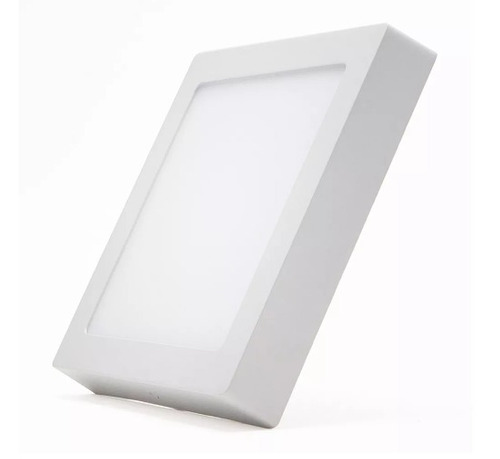 panel superficial led cuadrado 24w 220v luz fría o cálida