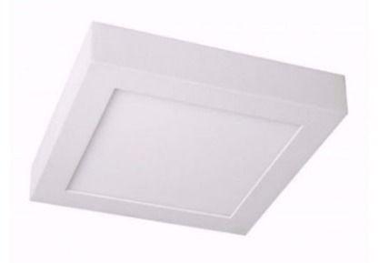 panel superficial led cuadrado 6w luz fría o cálida sica