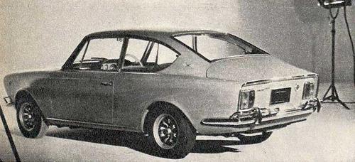 panel tapizado fiat coupe 1600 delantero