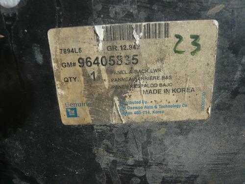 panel trasero de maleta chevrolet aveo 04-09
