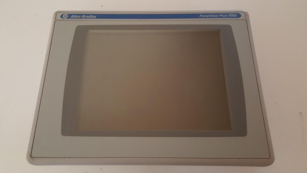 Panel View Plus 1000 Ab 2711p-rdt10c Con Modulo 2711p-rn6 - $ 14,000 00