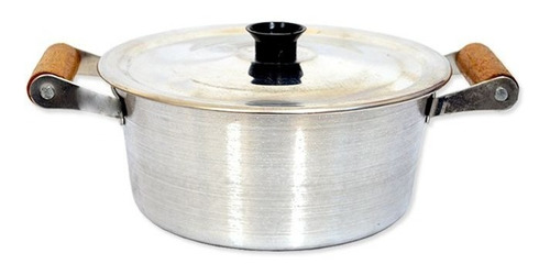 panela caçarola arary alumínio com tampa 2,5l
