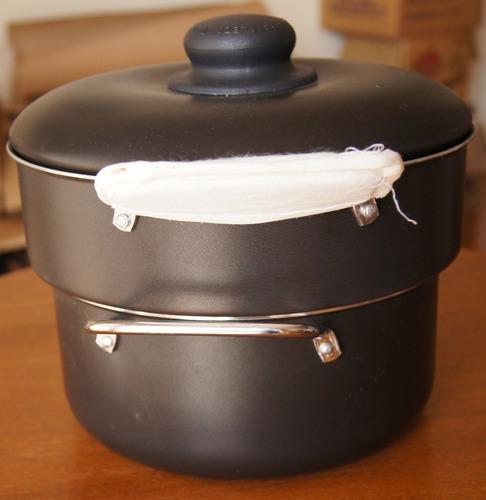 panela cozi vapore 18 cm black fortaleza
