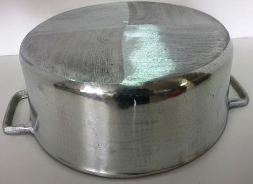 panela de arroz grande de aluminio fundido 14lt tampa pesada