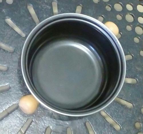 panela de fondue com 06 espetinhos