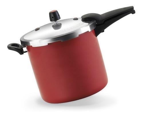 panela de pressão 10 litros vermelho alumínio oliveira-1326