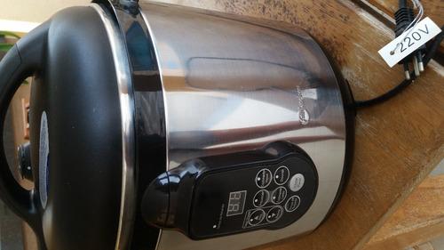panela de pressão elétrica 6 lt fun kitchen 220v