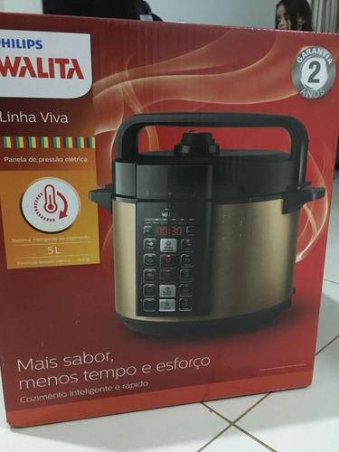 panela de pressão elétrica viva digital philips walita | 127