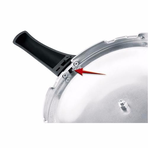 panela de pressão rochedo turbo top fechamento externo 7,6 l