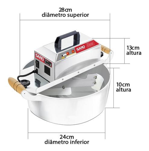 panela doce mexer kit 2 em 1 4 litros brigadeiro recheios