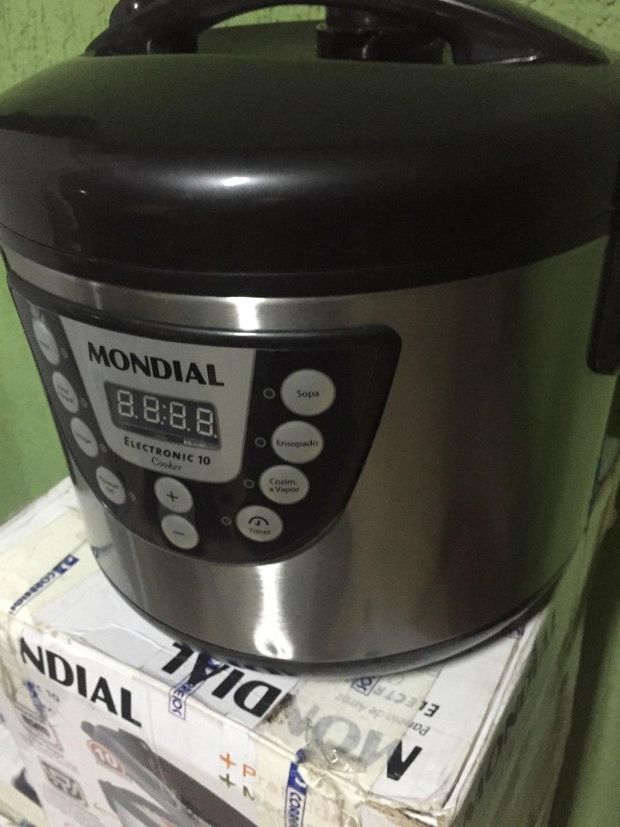 127ae1da6 panela elétrica de arroz com painel digital 10 xícaras pe-15. Carregando  zoom.
