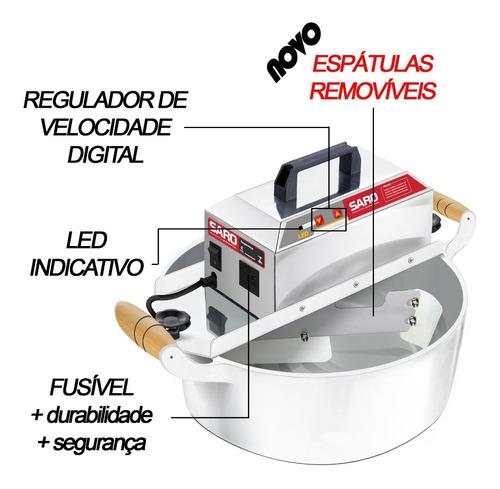 panela misturadeira automática 4l - compra  c/ desconto