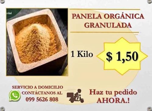 panela molida endulzante natural 1 kilo