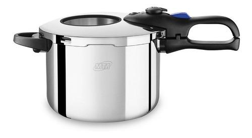 panela pressão inox c/ cozivapor 6 litros mta 6020 - indução