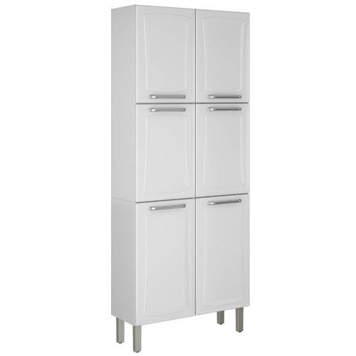 paneleiro duplo 6 portas tarsila itatiaia ipld-80 branco/nev