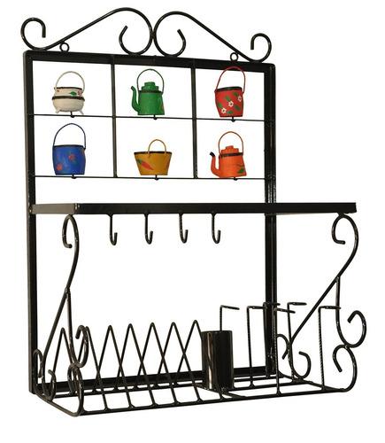 paneleiro rústico ferro pratos barato/imbatível/oferta
