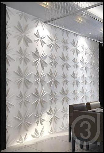 paneles 3d para adornar paredes lisas y pintar a tu estilo