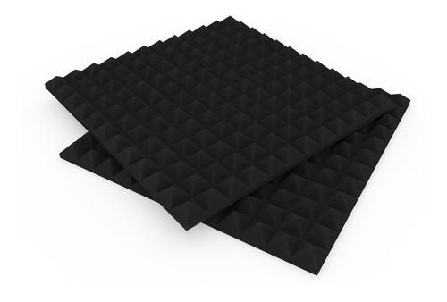 paneles acústicos diseño piramid basic 50x50cm x30mm musycom