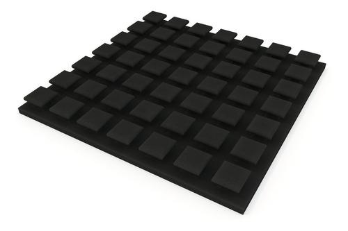 paneles acusticos new monaco 50x50cm x40mm c/retardodellama