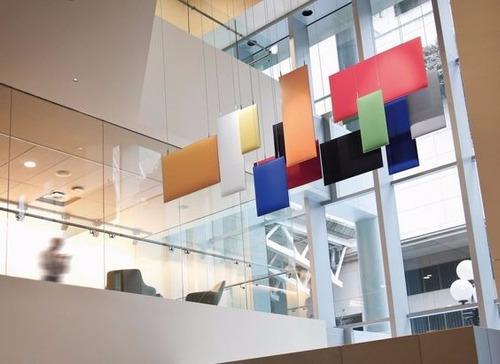 paneles acústicos oficinas salas - aislantes fonoabsorventes