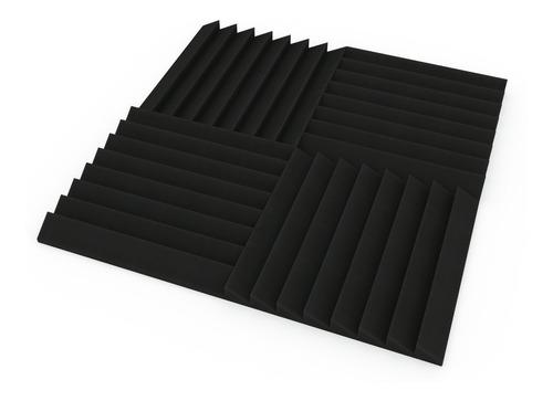 paneles acústicos pack x30m2 (120u) 3cm espesor (5 diseños)