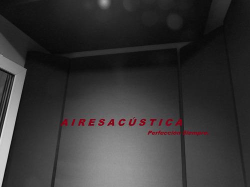 paneles acústicos-trampas de graves-lana de roca-ignífugos