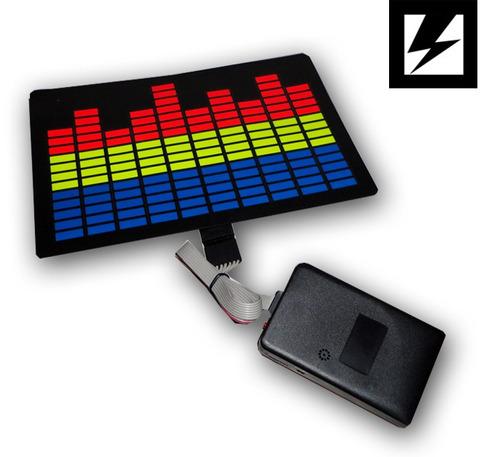 paneles con luces p/remeras audiorítmicos. prende con musica