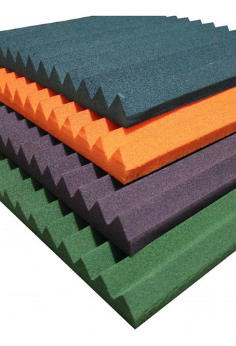 paneles de absorción acústica piramidales y triangulares