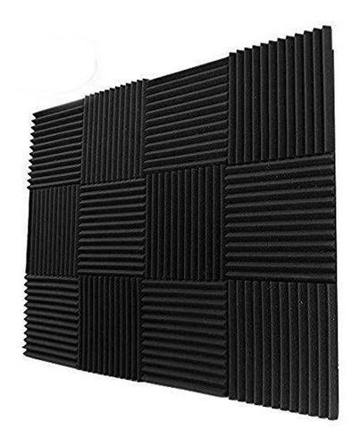 paneles de espuma acustica 12 pack 12x12x1 kit de amortiguac