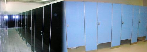 paneles de madera para baños publicos - sanitarios publicos
