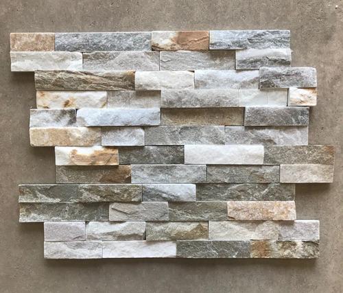 paneles de piedra - beige - revestimiento 15x55