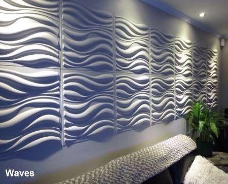 Paneles De Yeso 3d Decorativos Paredes 3d Drywall 50x50