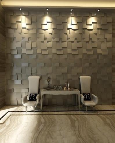 paneles decorativos 3d modelo cubix 3decowall - Paneles Decorativos 3d